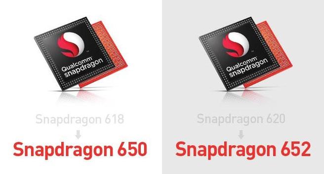 Snapdragon 650 en 652