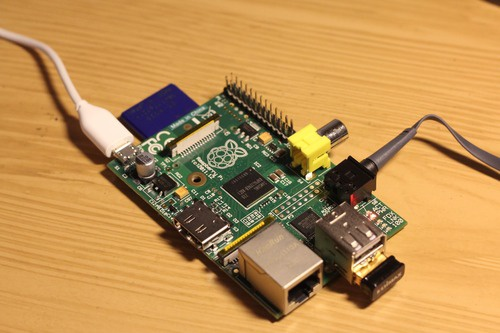 Raspberry Pi als Airplay-speaker