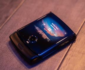 Motorola Razr op CES