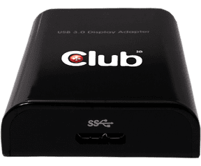 Club3D Club 3D SenseVision USB 3.0 to DisplayPort 1600p Graphics Adapter