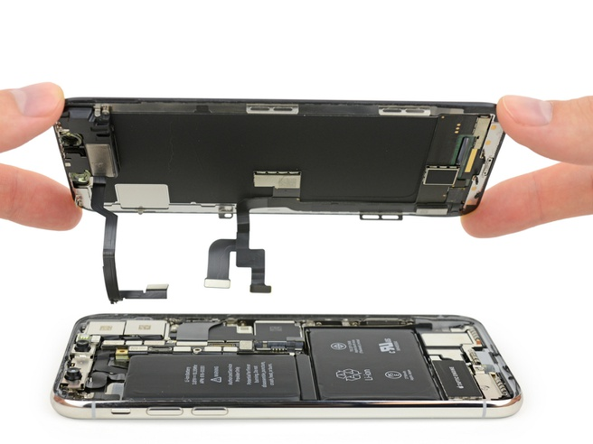 iPhone X iFixit