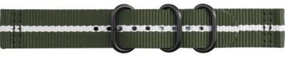 Samsung Gear Sport Premium Nato Arband Groen/Wit