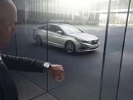 Smartwatch-app Hyundai voor Blue Link