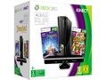 Goedkoopste Microsoft Xbox 360 Slim 4GB + Kinect Adventures + Disneyland Adventures + Kinect Zwart