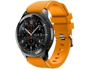 Goedkoopste qMust Sport armband voor Samsung Gear S3 Classic / Frontier - fel oranje
