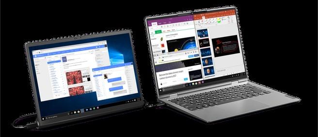 Lenovo Yoga Tab 13 sebagai monitor eksternal