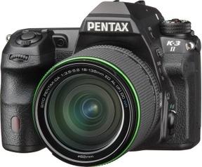 Pentax K-3 II DA 18-135mm WR kit Zwart
