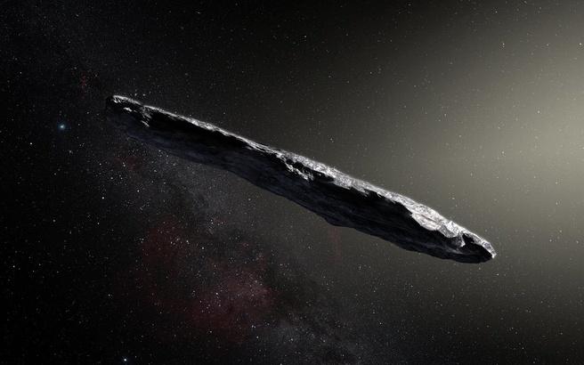Oumuamua concept