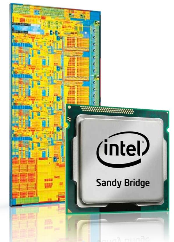 Sandy Bridge die