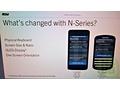 Slide: N-serie BlackBerry 10 met toetsenbord