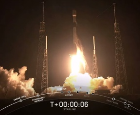 SpaceX Starlink lancering