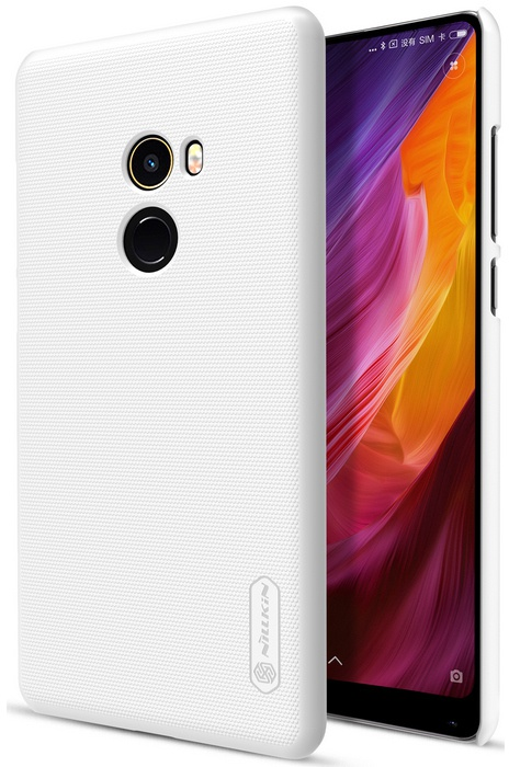 Nillkin Frosted Shield Hard Case voor Xiaomi Mi Mix 2 - Wit Wit