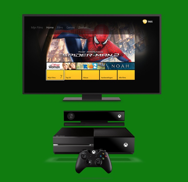 Pathé Thuis op Xbox One