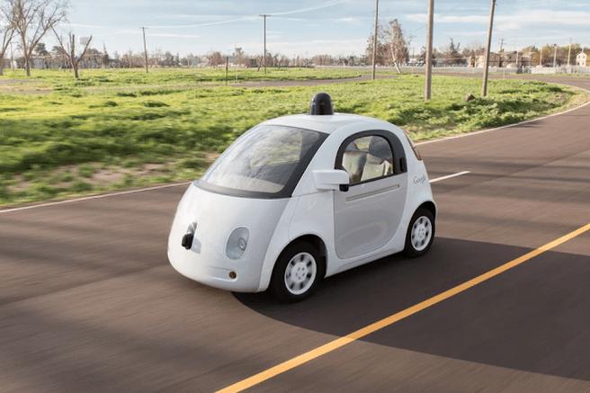 Google zelfrijdende auto