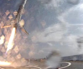 Landing Falcon 9
