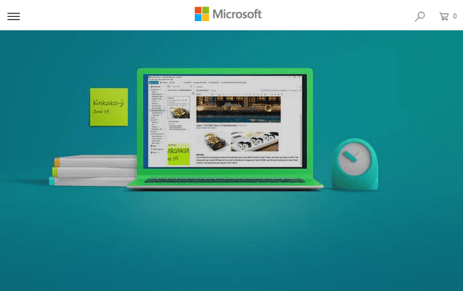 Evernote Windows Store