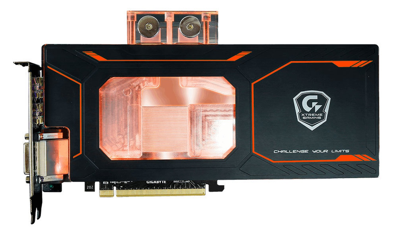 Gigabyte GTX 1080 Waterforce WB