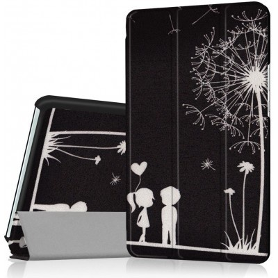 qMust Huawei MediaPad M3 8.4 Smart Tri-Fold Case - Two People
