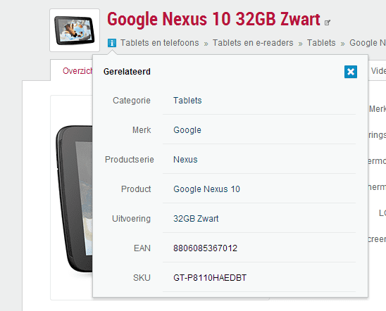 .plan #38: Screenshot pricewatch info popup