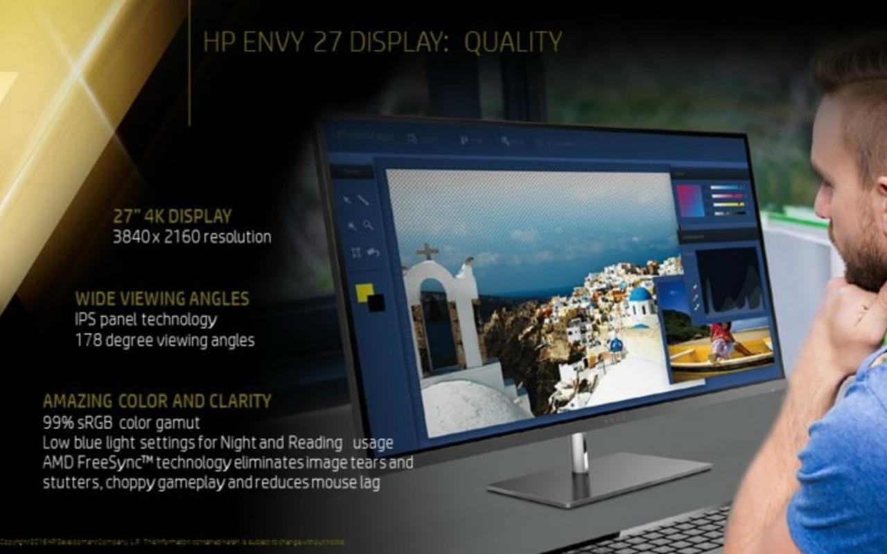 HP Envy 27 Display