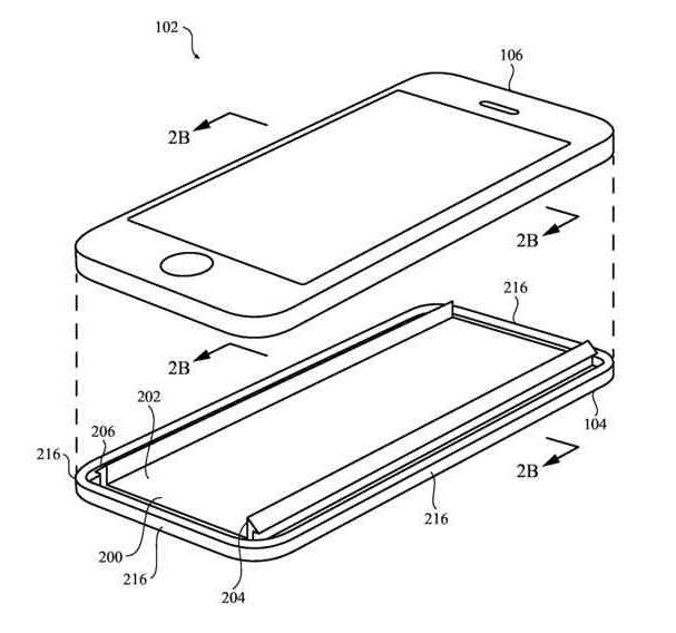Patent keramische iPhone