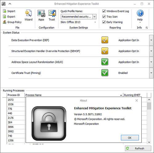Microsoft EMET 5.5