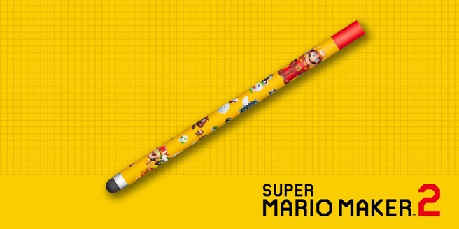 Super Mario Maker 2-stylus