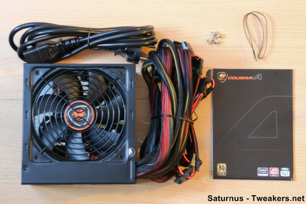 5. Cougar A450 Unpacked