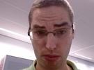 Selfie gemaakt met BlackBerry Passport