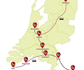 Routekaart tweakers express