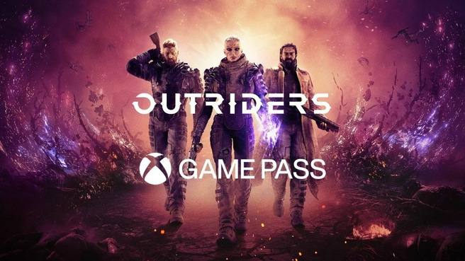 Outriders op Game Pass