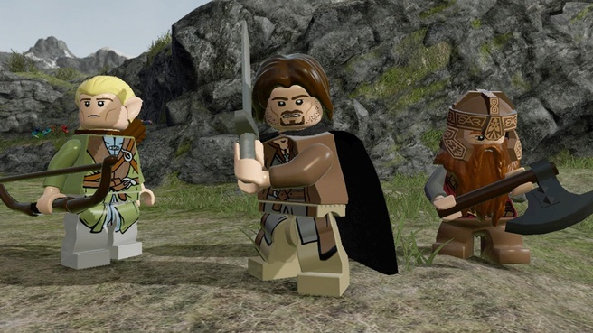 LEGO The Lord of the Rings, Xbox 360