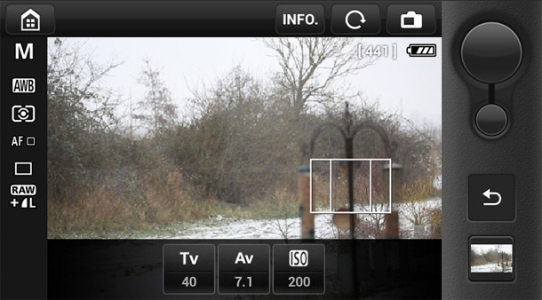 Canon EOS 6D EOS Remote-app