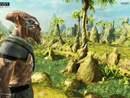 Outcast - Second Contact eerste screens