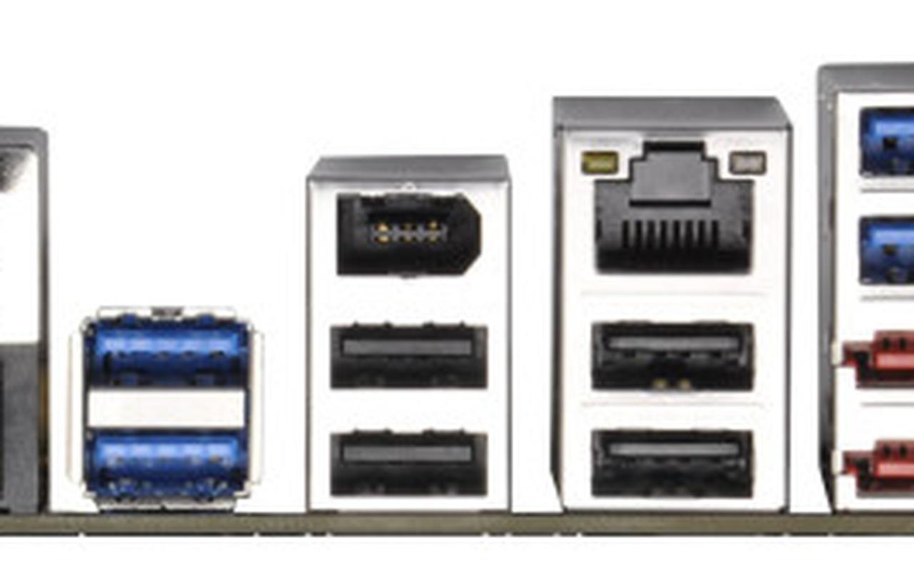 Asrock Fatal1ty X79-moederbord i/o-poorten