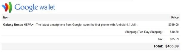 Android 4.1 op Galaxy Nexus