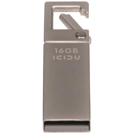 ICIDU Carabineer 16GB Aluminium