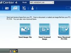 controlcenter4 PC-FAX dialoog