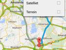 Google Maps routebeschrijving delen
