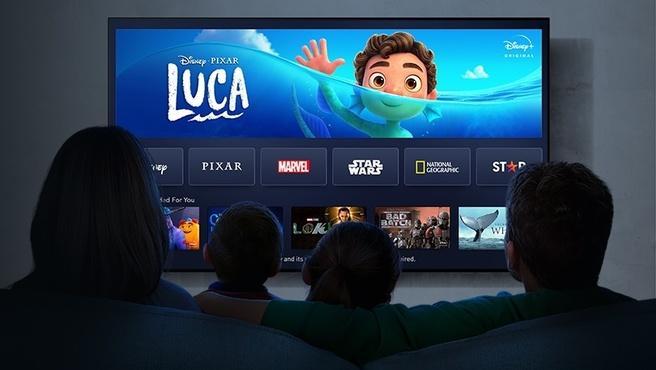 Panasonic-tv's krijgen Disney+
