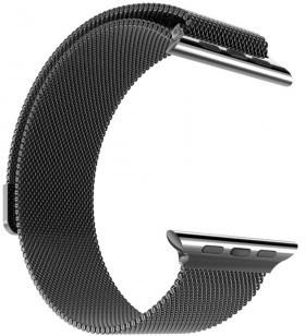 hoco Milanees Stainless Steel Watchband Apple Watch (38mm) - Black