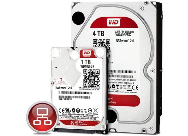 WD Red-drives
