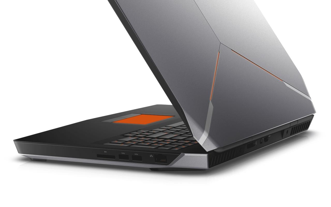 Alienware CES 2015 - 17 schuin achterkant