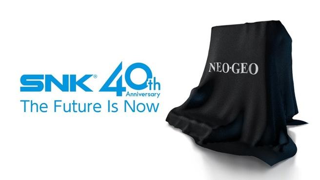 SNK bestaat 40 jaar en hint op Neo Geo Mini