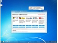 Microsoft Windows 7 browserkeuzescherm