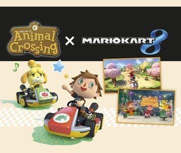 Pakket 2: Animal Crossing: New Leaf x Mario Kart 8 DLC, Wii U