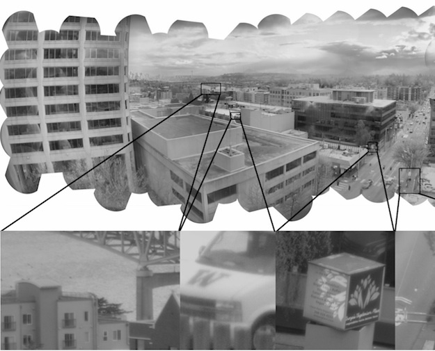 Gigapixel-camera
