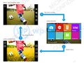 screenshot uit Windows Phone 8 sdk