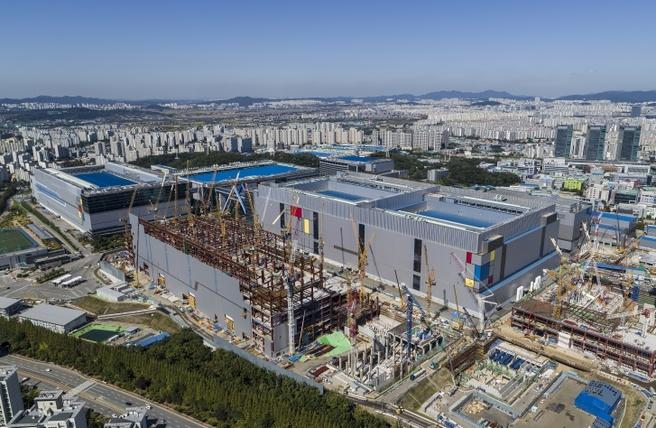 Productiefaciliteit Samsung voor 7nm-lpp-procedé