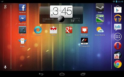 Google Nexus 7 landscape